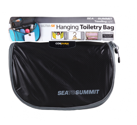 Sea To Summit HANGING TOILETRY BAG Small black/grey-01