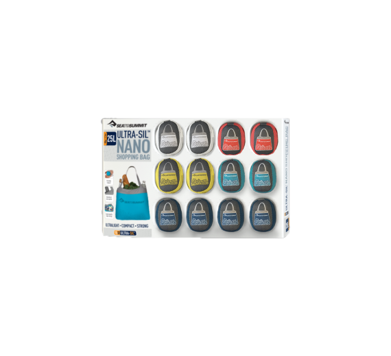 Ultra-Sil Nano Shopping Bag Display Refill Red