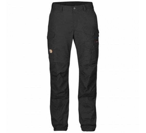FJÄLLRÄVEN VIDDA PRO TROUSERS W. SHORT, black