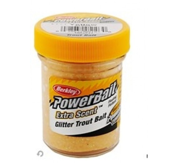 Berkley POWERBAIT Glitter Extra Scent Yellow