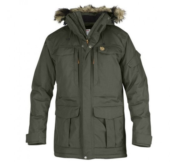 FJÄLLRÄVEN YUPIK PARKA MOUNTAIN GREY