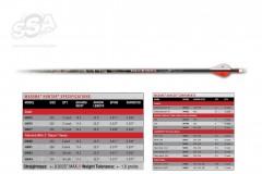 CarbonExpressShaftMaximaHUNTER12stkundenfaner350spinne-20