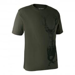 DeerhunterTshirtMedHjortBarkGreen-20