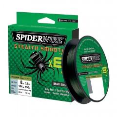SpiderwireSmoothX8pspole150meter009mmGrn-20