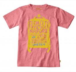 Fjällräven Kids T-shirt, peach-pink 116-20