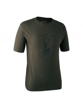 Deerhunter LOGO T-SHIRT Bark Green-20
