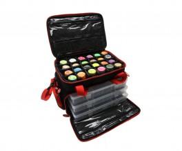 Berkley powerbait taske med 3 store grejbokse-20