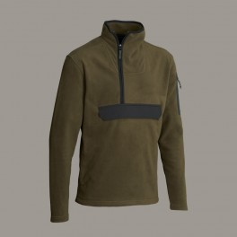 Northern Hunting BORR fleece trøje m/stretch, M, green-20