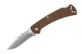 Buck 112 Slim. Pro. Brown Micarta-20