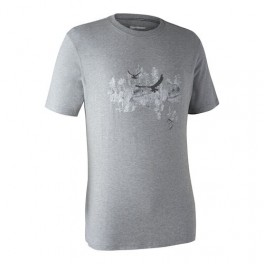 DEERHUNTER CEDER T-SHIRT GREY MELANGE-20