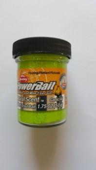 Berkley POWERBAIT Glitter Natural Scent Garlic Chartreuse-20