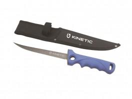 """KINETIC FILLET KNIFE SOFT GRIP 7"""" BLUE/BLACK-20"""
