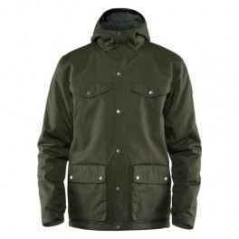 FJÄLLRÄVEN GREENLAND WINTER JACKET, M, deep green-20
