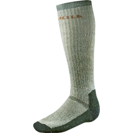 Härkila EXPEDITION LONG SOCKS grey/green-20