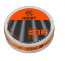 RWS HOBBY KUGLEN RIFLET 5,5MM 0,77G 500 STK.-20