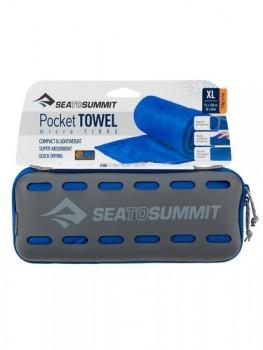 SEA TO SUMMIT POCKET TOWEL L 60X120CM COBALT BLUE-20
