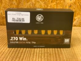 RWS .270 Win 10,0g/154gr Evolution-20