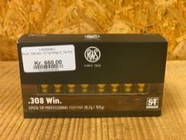 RWS .308 Win. 10,7g/165gr S_Tip Pro-20