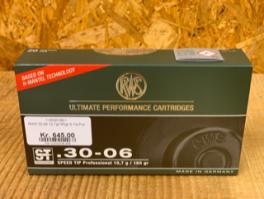 RWS 30-06 10,7g/165gr S-Tip Pro-20