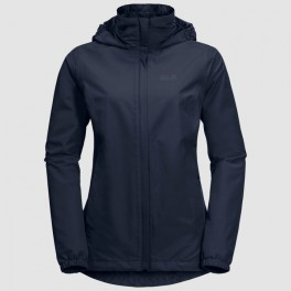 JACK WOLFSKIN STORMY POINT JACKET W MIDNIGHT BLUE-20