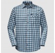 Jack Wolfskin River Town Shirt, M, night blue checks