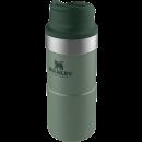 STANLEY CLASSIC ONE HAND VACUUM MUG 0,35L GREEN